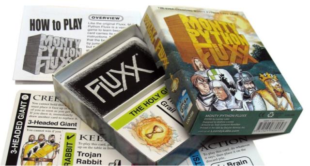 Ars Cardboard classics—the stupid fun Monty Python Fluxx