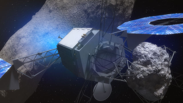 NASA's asteroid mission calls for a robotic spacecraft to grab a boulder from an asteroid and return it to cislunar space.
