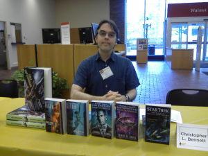 Author Christoper L. Bennett