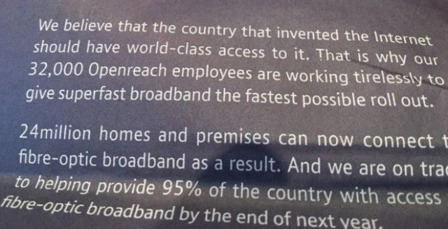 BT ad claims that the Internet was invented in the UK