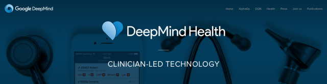 Google's DeepMind AI group working with NHS to develop patient care software