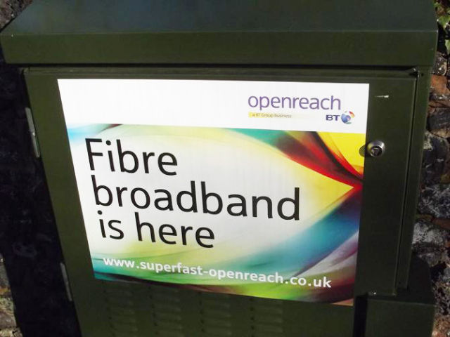 "UK government inks deal with BT to bring ""superfast fibre"" to newly built homes"