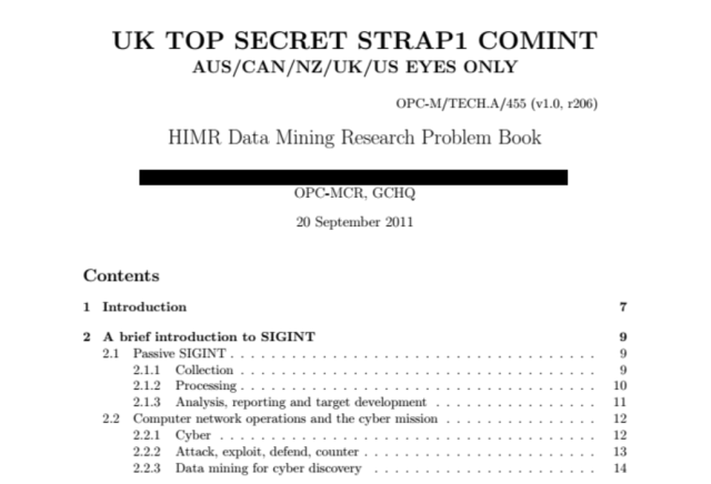 GCHQ's data-mining techniques revealed in new Snowden leak