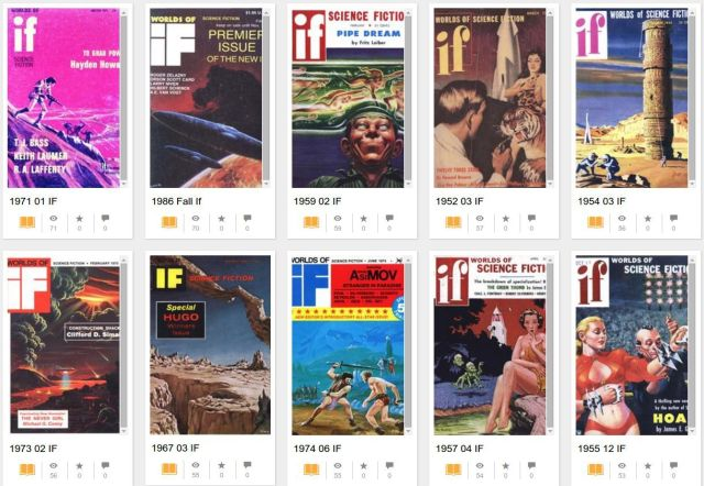 You can now read the entirety of sci-fi magazine If for free