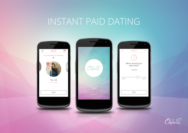 Ohlala launches Uber-like instant paid dating app in New York