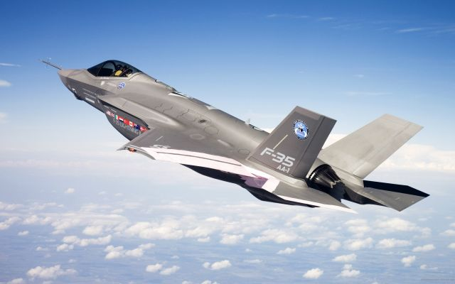 The F-35 program will be cut by 45 aircraft over the next 10 years as the Air Force struggles with its spending priorities, according to an Air Force document.