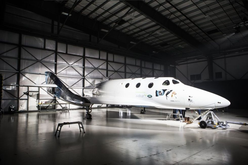Behold: VSS Unity, the spacecraft Virgin Galactic says will open up space to the rest of us.