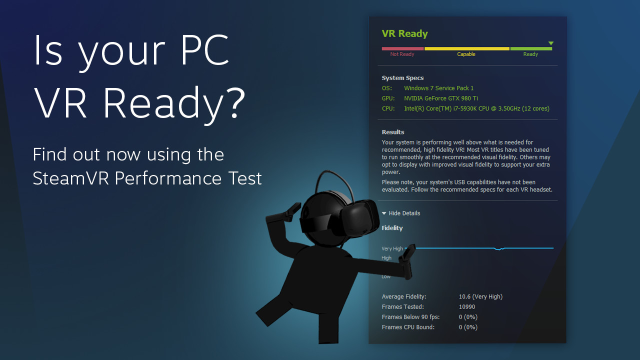 Valve Releases Tool To Test Whether Your Pc Is Vr Ready