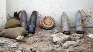 IEDs made from artillery shells captured in Baghdad are the last generation of improvised threats. DARPA wants to know what the next is.