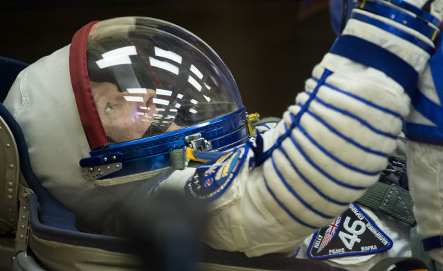 Tim Peake prepares for his Dec. 15th launch to the International Space Station.