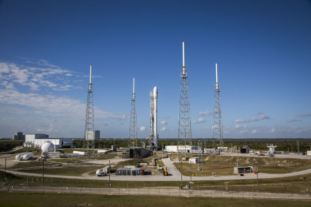 The SES-9 satellite is ready to go. Will we see a launch this evening?