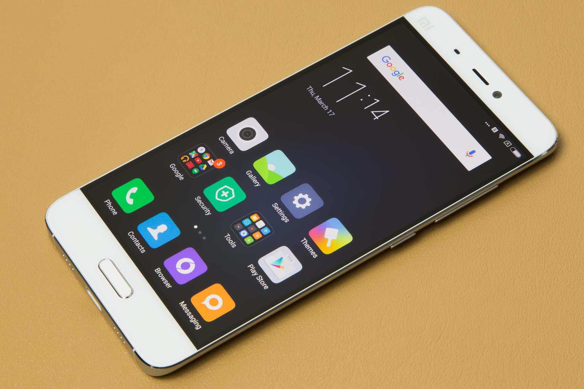 The Xiaomi Mi 5.
