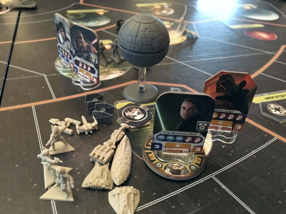 Time to fight. A turn later, that Death Star would be nothing more than space debris.