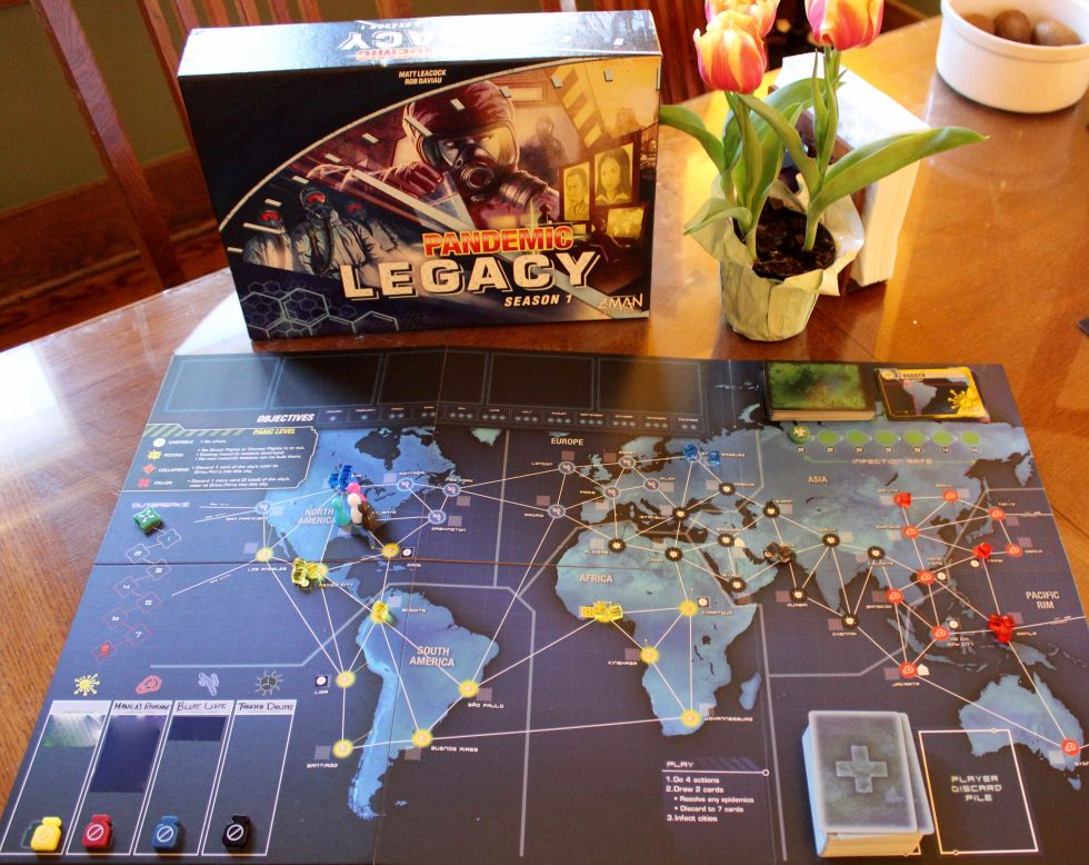 Pandemic Legacy Is The Best Board Game Ever But Is It Fun Ars