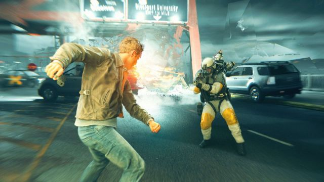 <em>Quantum Break</em>: not available on Steam.