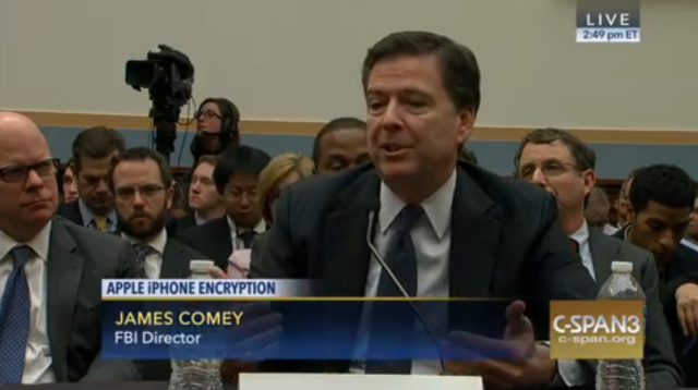 FBI Director James Comey in the hot seat Tuesday before the House Judiciary Committee.