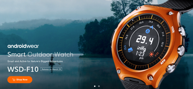 Casio's rugged Android Wear watch goes on sale March 25 for $500