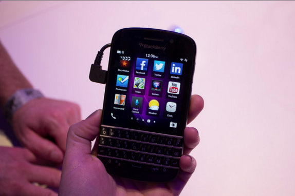 Facebook's icon may soon disappear from BlackBerry devices along with WhatsApp.