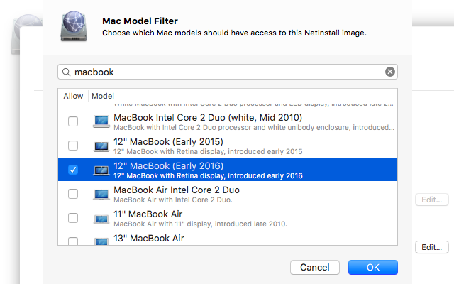 "Unreleased ""12-inch MacBook (Early 2016)"" shows up in OS X Server update"
