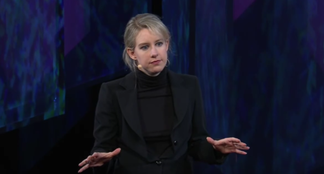 Founder and CEO of Theranos, Elizabeth Holmes at TEDMED 2014.