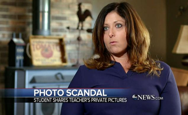teachers fired for posing