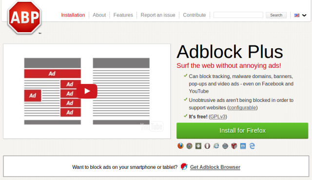 "Adblockers are ""akin to a modern day protection racket,"" says UK culture minister"