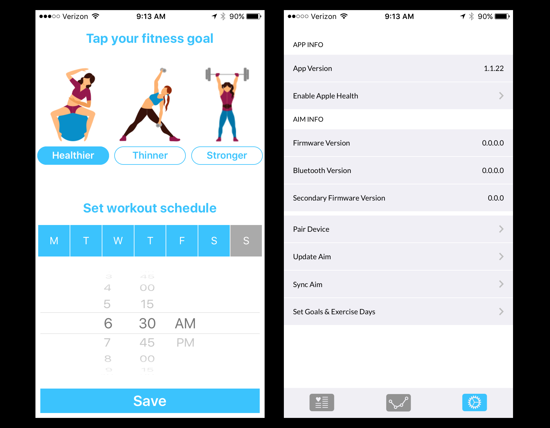 First The App Will Ask You What Goals Have And When Regularly Work Out