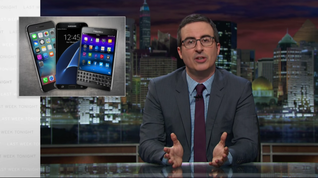 John Oliver explains why iPhone encryption debate is no joking matter