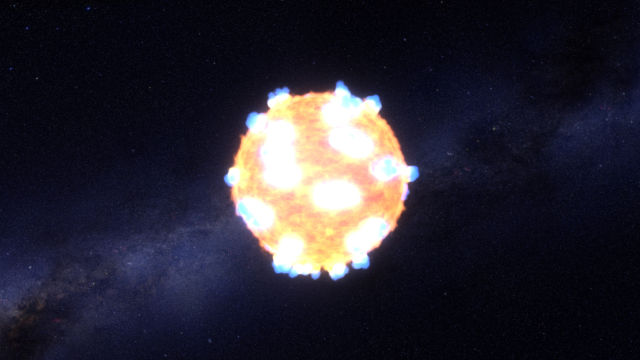 Kepler watched two supernovae burst out of the surface of stars