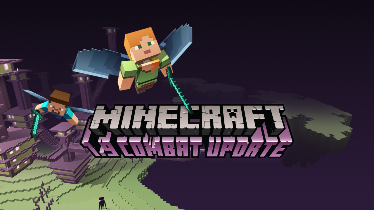 Minecraft finally gets a combat overhaul with v1 9 update