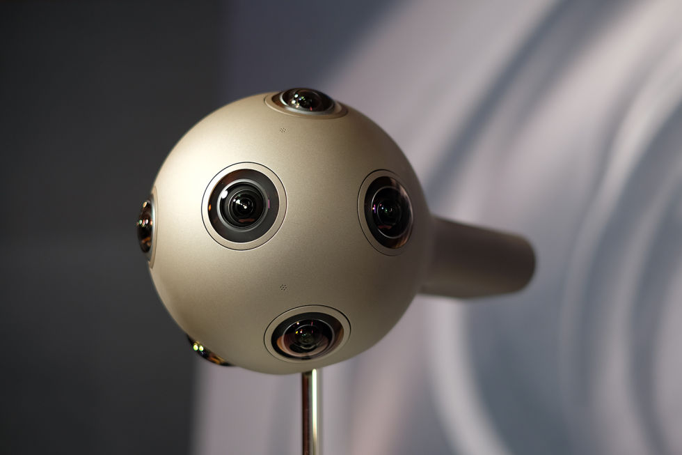 Nokia Ozo: A 360° 3D VR camera out to populate the barren content desert