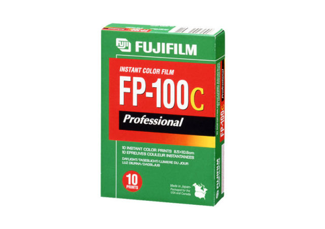 Fujifilm will stop making FP-100C Polaroid-compatible film