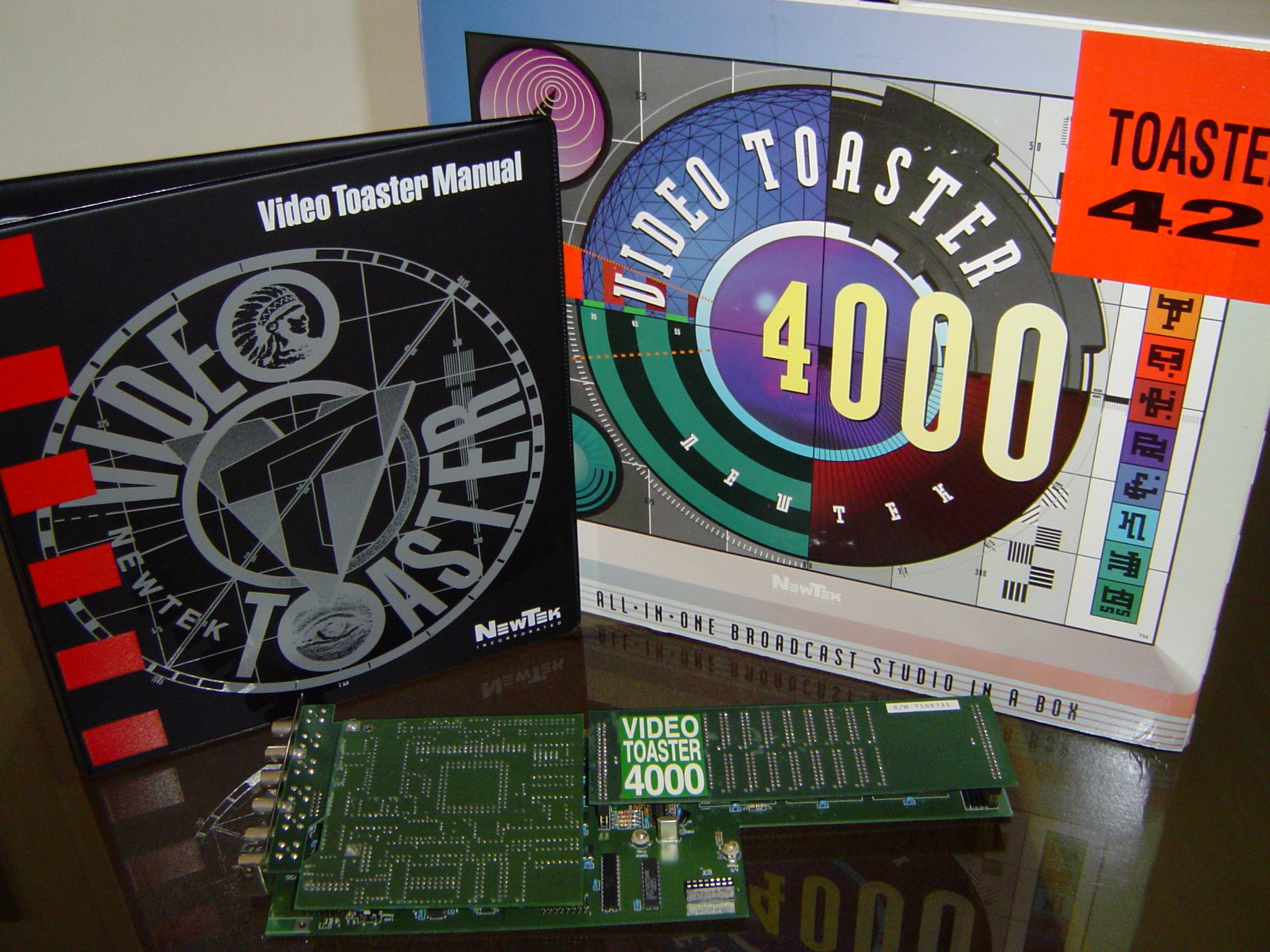 The Video Toaster 4000.