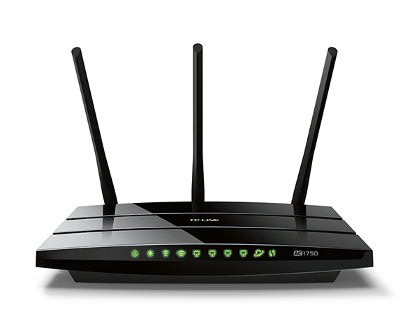 A TP-Link router.