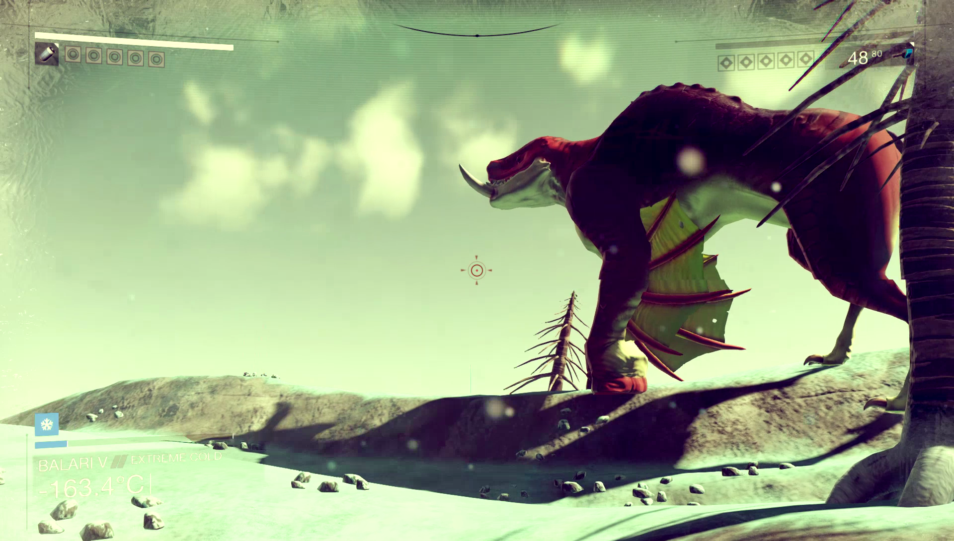 "Let's name this creature ""Lee Hutchinson."" If I had <i>No Man's Sky</i> right now, I could totally do that."
