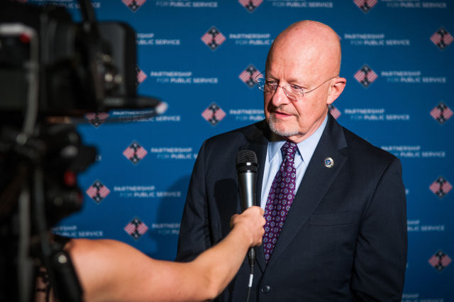 Director of National Intelligence James Clapper, seen here in 2013.