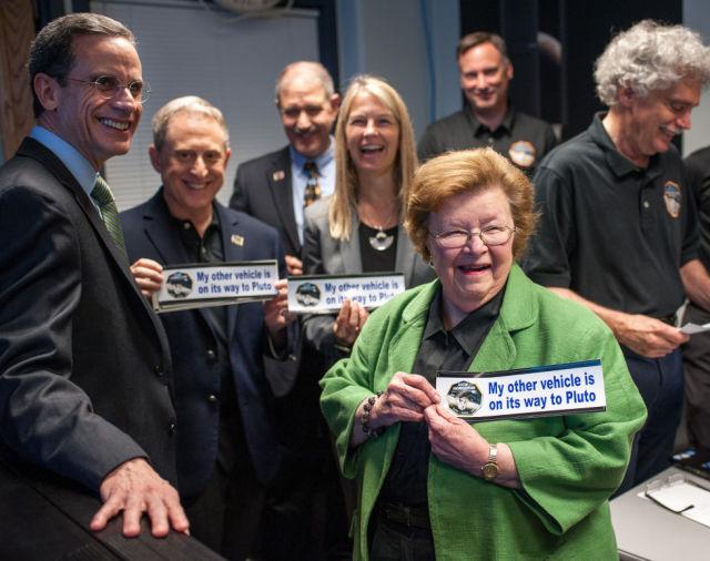 Senator Barbara Mikulski has worked hard to ensure funding for Goddard Space Flight Center.