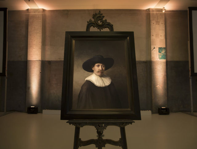3D-printed masterpiece? Computer mimics brushstrokes of Rembrandt