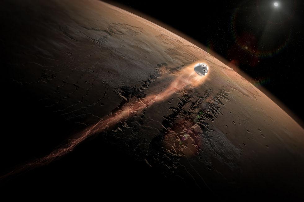 mars landing spacex - photo #13