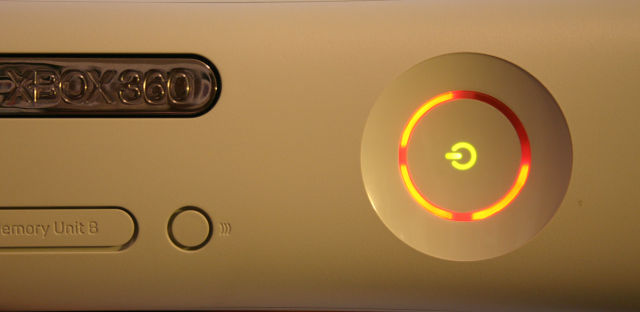We imagine this is the way the Xbox 360 would say goodbye to us if it could talk.