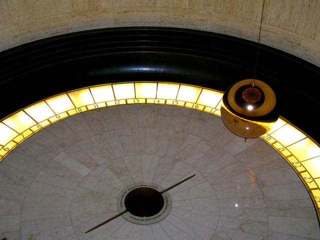 A Foucault's Pendulum.