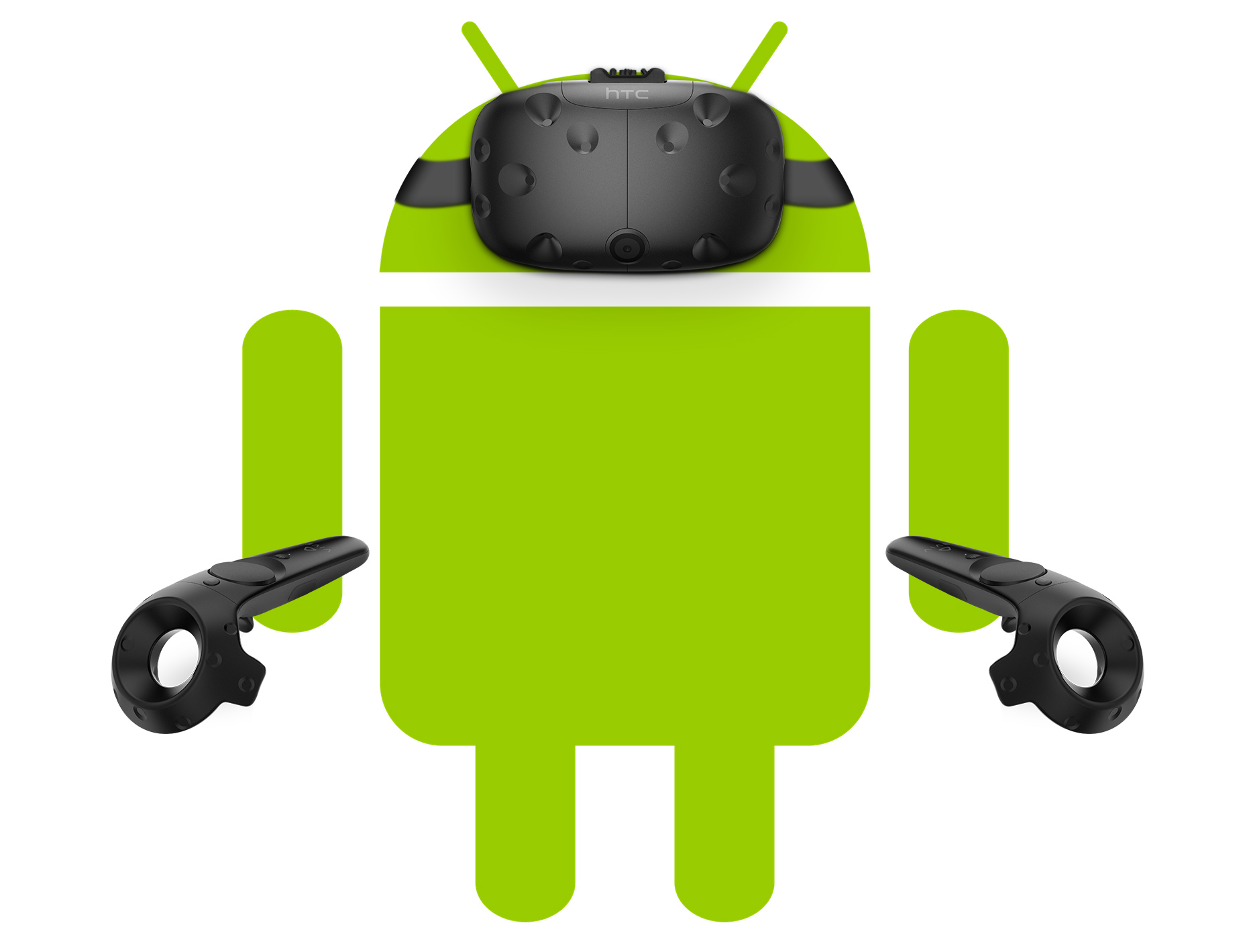 enlarge the android