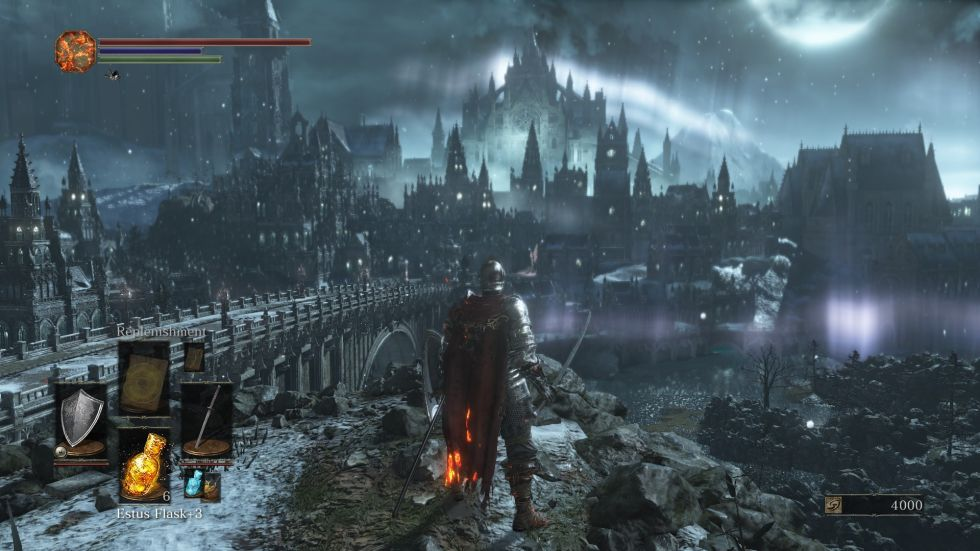 The world of <i>Dark Souls 3</i> retains much of the series' bizarre desperation.