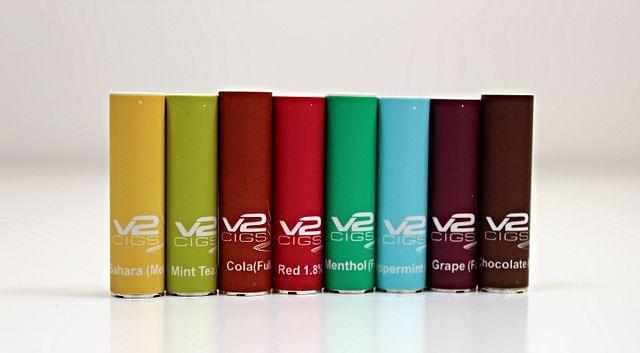 E-cig flavors.