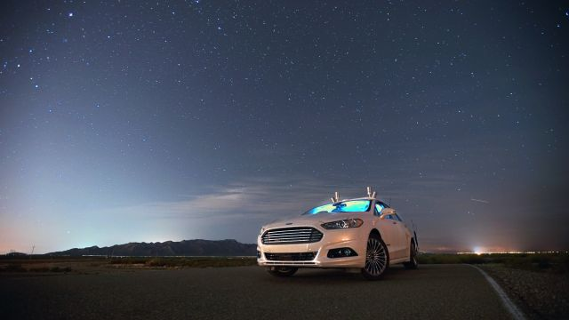 Pitch black: Ford's autonomous cars don't care whether it's day or night