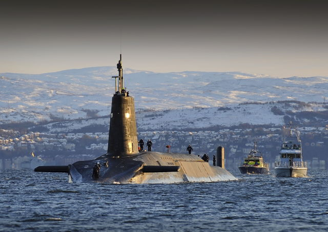 Cyber war fears: UK's Trident nuclear missiles to get software update