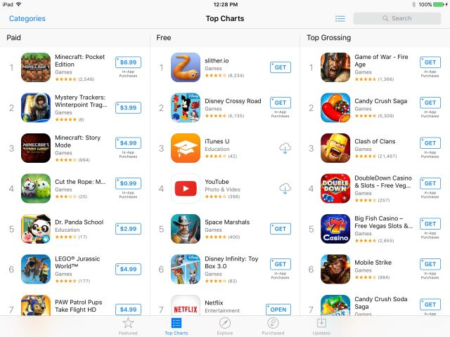Report: Apple considering a paid search model for the App Store