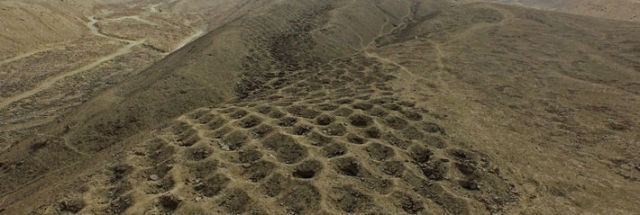 Mile Long Band Of Holes In Peru May Be Remains Of Inca