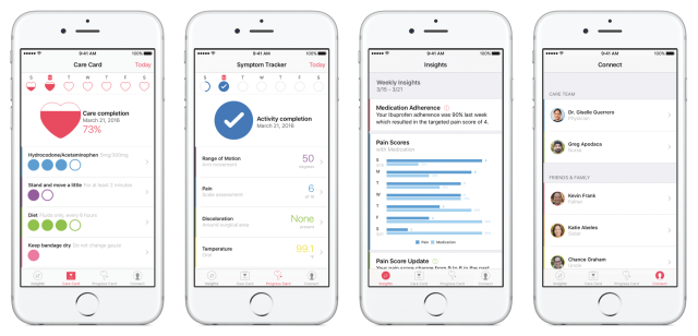 Apple throws open doors to CareKit, shows off the first four apps