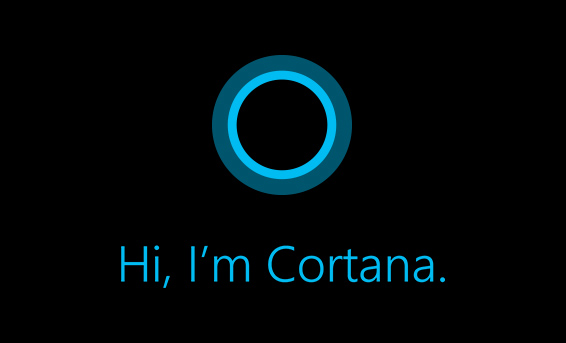 This is Cortana.